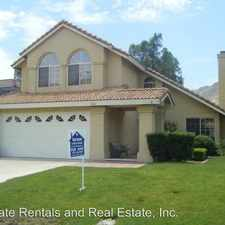 Rental info for 9643 Sycamore Canyon Rd.