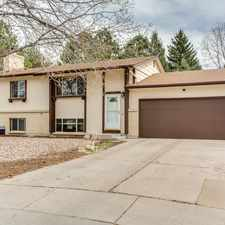 Rental info for (SOLD) Amazing Park Like Backyard on a Cul De Sac! in the Colorado Springs area
