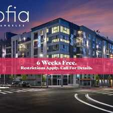 Rental info for Sofia Los Angeles