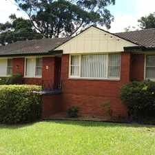 Rental info for LEASED - 3 BEDROOM HOME - EASY WALK TO CASTLE TOWERS in the Sydney area