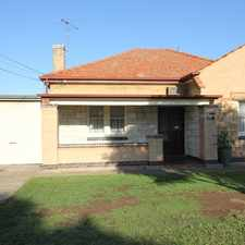 Rental info for Neat character Family Home in the Adelaide area