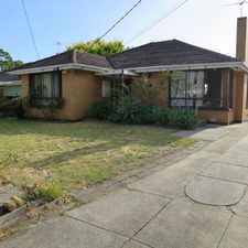 Rental info for SPACIOUS HOME IN QUIET COURT LOCATION in the Melbourne area