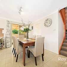 Rental info for TWO BEDROOM TOWNHOUSE OFFERING PEACE, PRIVACY AND WELL PRESENTED FINISHES