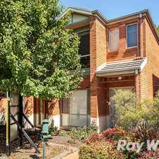 Rental info for 3 Bedroom Townhouse in the Melbourne area