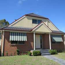 Rental info for MODERN, SPACIOUS AND WELL LOCATED RESIDENCE in the Melbourne area