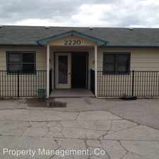 Rental info for 2220 E. Foothills Drive - 4