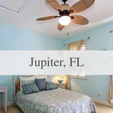 Rental info for Situated In In Abacoa, This Stunning Custom Hom... in the Jupiter area