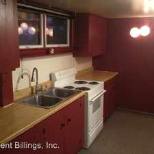 Rental info for 315 1/2 5th Street West in the 59102 area
