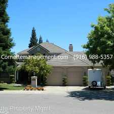 Rental info for 9058 Takeoff Court in the Orangevale area
