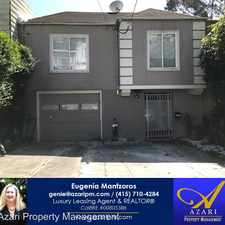 Rental info for 427 A Joost Avenue in the Mission Terrace area