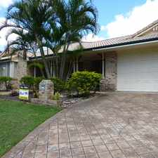 Rental info for ***** CANCELLED OPEN HOME: SAT 29 APR @ 1:00PM NOW CANCELLED - PROPERTY RENTED in the Mount Ommaney area