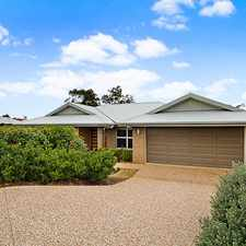 Rental info for GREAT LOCATION, VIEWS, PRIVACY AND LOW MAINTENANCE in the Toowoomba area