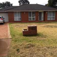 Rental info for Family Home in the Currans Hill area