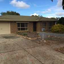 Rental info for Great Home in Great Location in the Parafield Gardens area