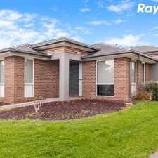 Rental info for LOVELY FAMILY HOME! in the Pakenham area