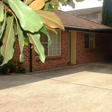 Rental info for Tidy Villa in Central Location - Walking distance to station in the Sydney area