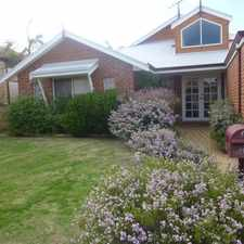 Rental info for Beautiful Family home in sought after location in the Currambine area