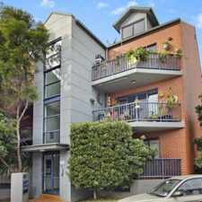Rental info for PERFECTLY LOCATED MODERN TWO BEDDER in the Sydney area