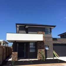Rental info for Superb Townhouse! in the Geelong area