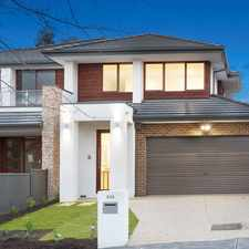 Rental info for Brand new flawless state-of-the-art in the Balwyn area