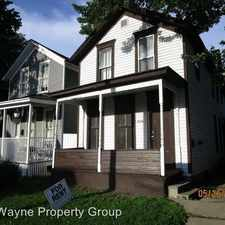 Rental info for 1416 N Harrison - 3 3 in the Fort Wayne area
