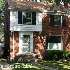 Rental info for 12825 Longarce in the Grandmont area