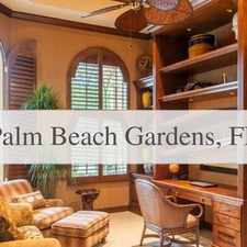 Rental info for This House Is A Must See! in the Palm Beach Gardens area