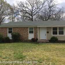 Rental info for 311 Hazelwood Drive in the 27401 area