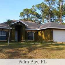 Rental info for Outstanding Opportunity To Live At The Palm Bay...