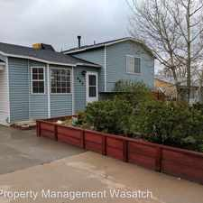Rental info for 685 3 O'Clock Drive in the Tooele area