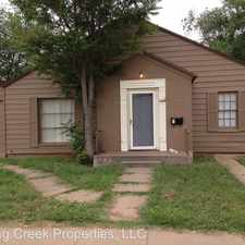 Rental info for 1919 17th Street in the Lubbock area