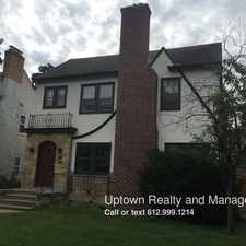 Rental info for 1441 West 35th St in the East Calhoun area