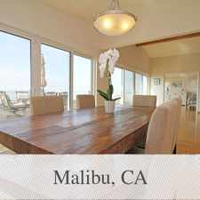 Rental info for Over 2,136 Sf In Malibu. Parking Available!