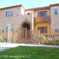 Rental info for 538 N. Alexandria Ave. 6 in the Los Angeles area