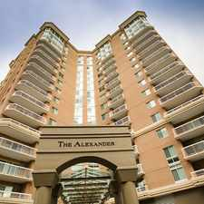 Rental info for The Alexander in the Arlington area