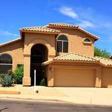 Rental info for 2,944 Sq. Ft. 3 Bathrooms Scottsdale - In A Gre...