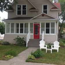 Rental info for 409 Naymut in the Menasha area