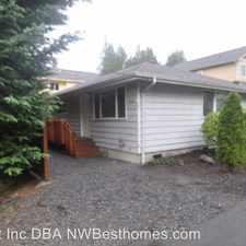 Rental info for 12411 27th Place West