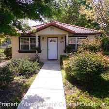 Rental info for 624 N. Ferrocarril Road in the Atascadero area