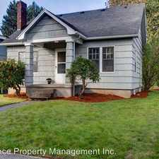 Rental info for 3415 NE 13th Ave. in the Portland area