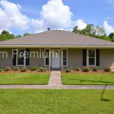 Rental info for Three Bedroom Home with Large Yard in Cypress Park Subdivision of Zachary School District