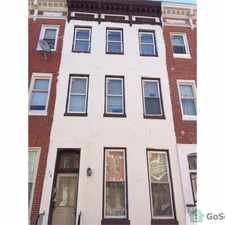 Rental info for Convenient location for accessing downtown Baltimore & Inner Harbor. Public Transportation is 1/2 block away. in the Union Square area