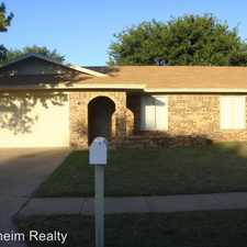 Rental info for 7815 Avenue V in the Lubbock area