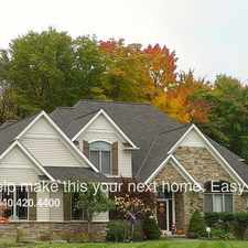 Rental info for 6960 Woodlands Ln in the Solon area