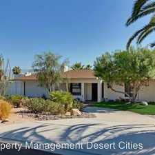 Rental info for 71364 Biskra Road in the Rancho Mirage area