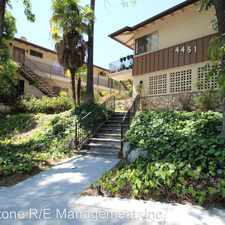 Rental info for 4451 Rockland Place - 07 in the La Crescenta-Montrose area