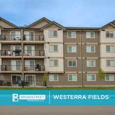 Rental info for Westerra Fields