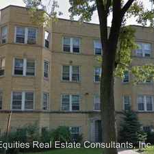 Rental info for 742 Dobson Ave. #1 in the Evanston area