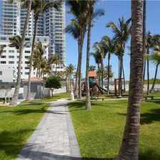 Rental info for 6301 Collins Ave
