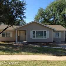 Rental info for 3717 28th Street (#36-M) in the Lubbock area